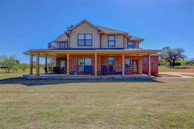 Blanchard OK Single Family Home For Sale: $305,000