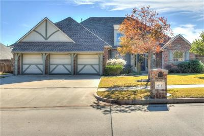 Yukon Single Family Home For Sale: 412 Meadow Run Court