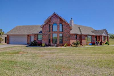 Blanchard OK Single Family Home Sold: $260,000