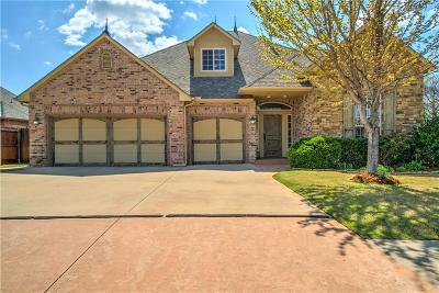 Lincoln County, Oklahoma County Single Family Home For Sale: 19805 Oakshire Drive