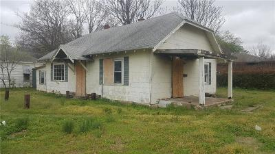 Chickasha Single Family Home For Sale: 1303 S 9th