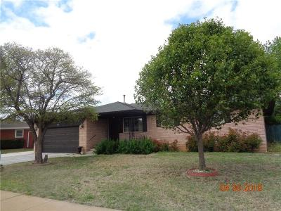 Altus Single Family Home For Sale: 113 S Mockingbird Drive