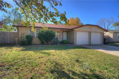 Oklahoma City Single Family Home For Sale: 4212 SE 49th Terrace