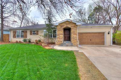 Nichols Hills Single Family Home For Sale: 1714 Drakestone Avenue