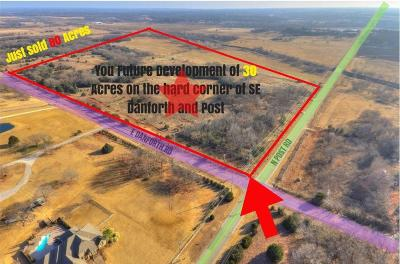 Oklahoma County Residential Lots & Land For Sale: Danforth/Post