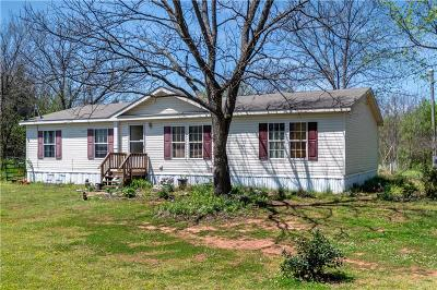 Wellston Single Family Home For Sale: 334181 E 950 Road