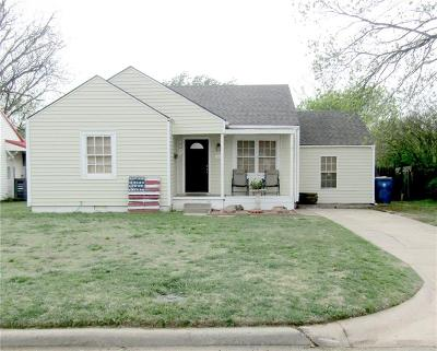 Chickasha Single Family Home For Sale: 1608 S 14th