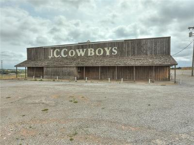 Weatherford Commercial For Sale: 23894 S Frontage