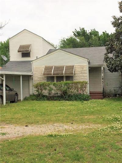 Stroud OK Single Family Home For Sale: $48,000