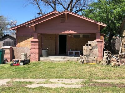 Oklahoma City Single Family Home For Sale: 1609 NW 18th Street