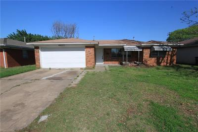 Del City Single Family Home For Sale: 4437 Woodedge Drive