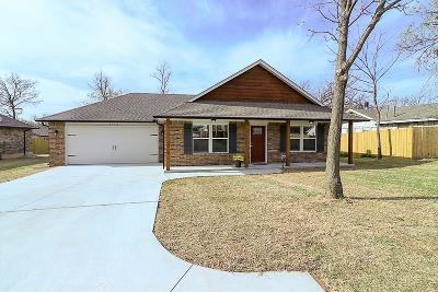 Midwest City OK Single Family Home Sold: $176,900