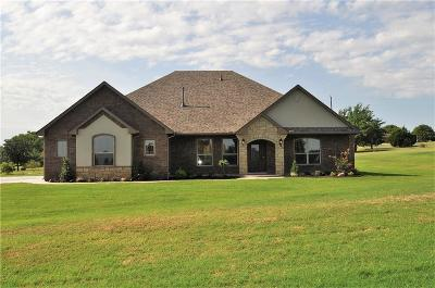 Blanchard OK Single Family Home For Sale: $299,000