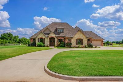 Blanchard OK Single Family Home For Sale: $348,900