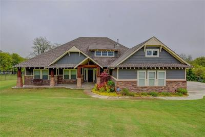Choctaw Single Family Home For Sale: 4900 Cedar Mill