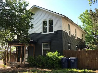 Guthrie Single Family Home For Sale: 318 E Cleveland