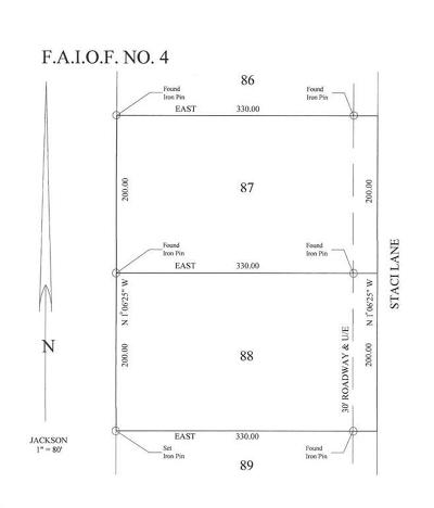 Edmond Residential Lots & Land For Sale: 9725 Staci