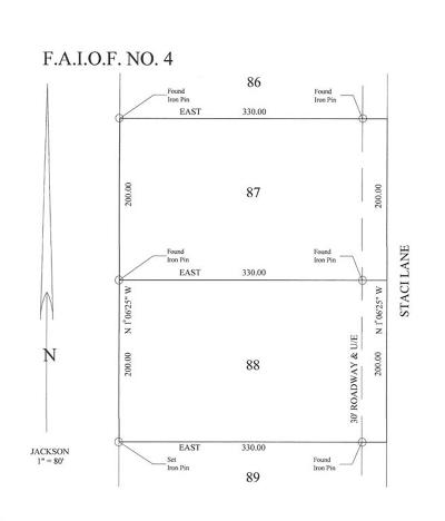 Edmond Residential Lots & Land For Sale: 9741 Staci