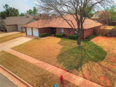 Edmond Single Family Home For Sale: 313 Little Chisholm Circle