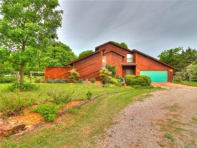 McLoud Single Family Home For Sale: 1782 N Highway Drive