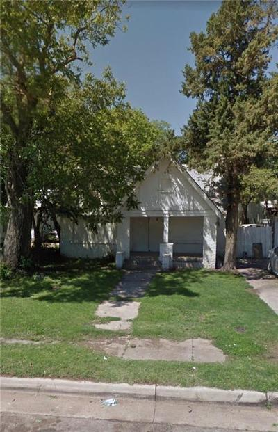 Oklahoma City OK Single Family Home For Sale: $27,500