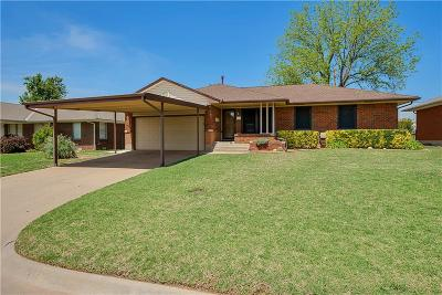 Midwest City OK Single Family Home Sold: $108,000