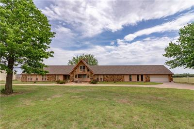 Weatherford Single Family Home For Sale: 9986 N 2426 Road