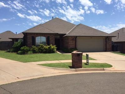 Edmond Single Family Home For Sale: 17032 Canyonwood