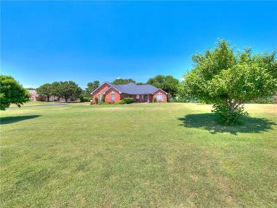 Blanchard OK Single Family Home For Sale: $225,000