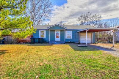 Del City Single Family Home For Sale: 4416 37th St