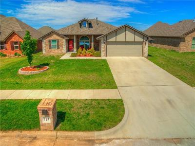 Moore Single Family Home For Sale: 713 S Silverleaf Drive