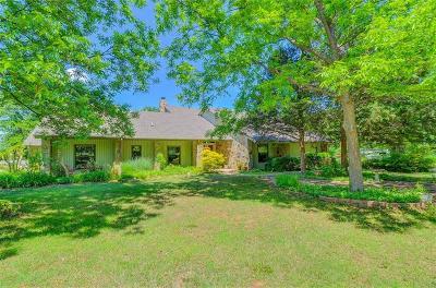 Harrah Single Family Home For Sale: 4044 S Deer Park