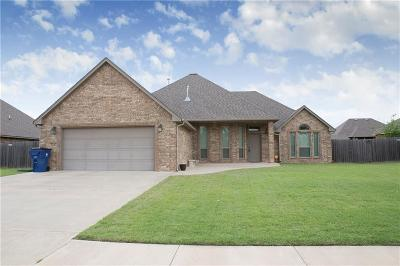 Blanchard OK Single Family Home For Sale: $209,900