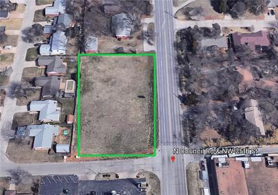 Oklahoma City Residential Lots & Land For Sale: NW 25th