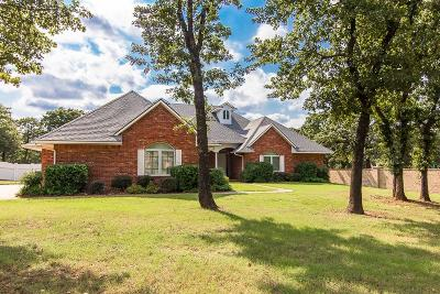 Blanchard OK Single Family Home For Sale: $375,000