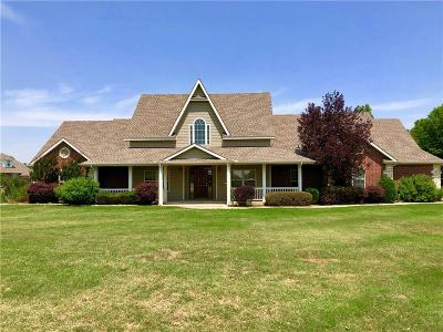 Tuttle Single Family Home For Sale: 403 Cambrye Dr