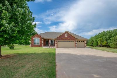 Tuttle Single Family Home For Sale: 7300 Waterfront Drive