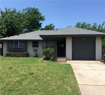 Moore Single Family Home For Sale: 721 N Dillon