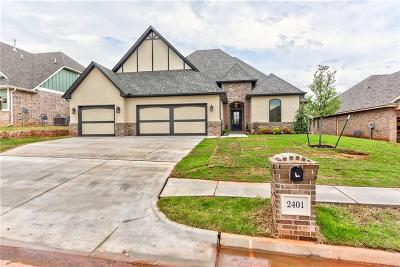 Edmond Single Family Home For Sale: 2401 Bretton Lane
