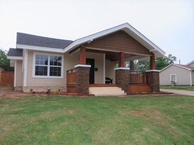 Chickasha Single Family Home For Sale: 1415 S 17th Street