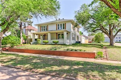 Guthrie Single Family Home For Sale: 1005 E Noble Avenue
