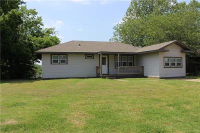 Stroud OK Single Family Home For Sale: $72,000