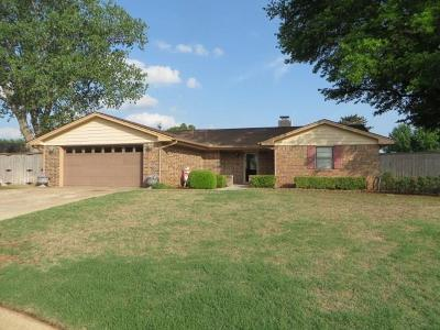 Chickasha Single Family Home For Sale: 41 Shady Meadow Way