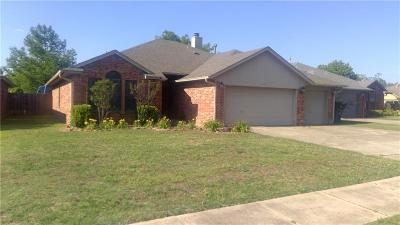 Edmond Single Family Home For Sale: 1617 Victoria Drive