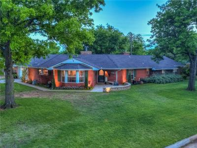 Oklahoma City Single Family Home For Sale: 8621 Glenwood Avenue