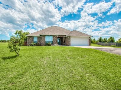 Blanchard OK Single Family Home For Sale: $179,000
