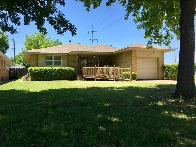 Oklahoma City Single Family Home For Sale: 3825 N Cromwell Avenue