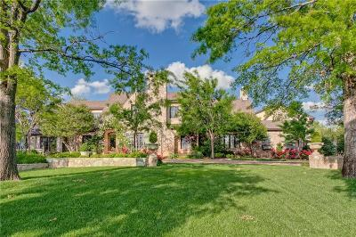 Nichols Hills OK Single Family Home For Sale: $2,995,000