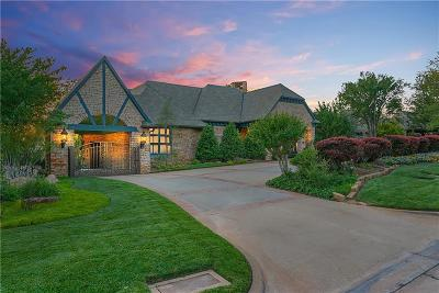 Nichols Hills OK Single Family Home For Sale: $2,190,000