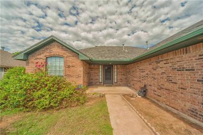 Choctaw Single Family Home For Sale: 3521 Northridge